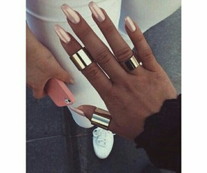 inspirational, nails, and pink image