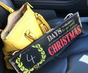 bag, christmas, and countdown image