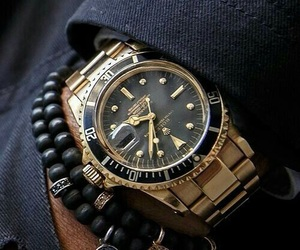 watch, fashion, and rolex image
