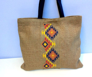 etsy, tribal pattern, and beach bag image