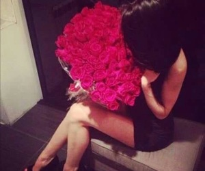 beauty, red, and roses image