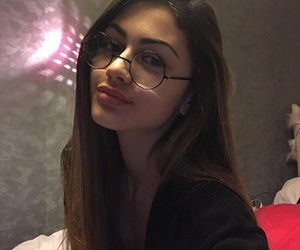 girl, glasses, and goals image