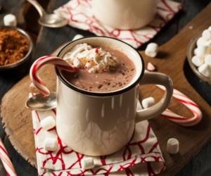 christmas, cold, and drink image