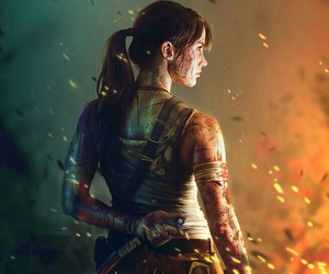 tomb raider, lara croft, and game image