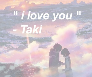 taki, kimi no nawa, and mitsuha image