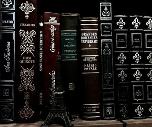 book and black image