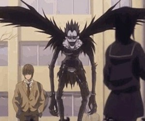 anime, death note, and ryuk image