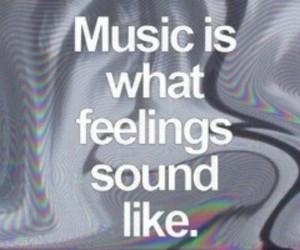 beautiful, music, and feelings image