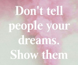 dreams, inspire, and pink image