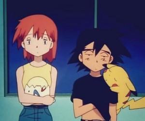 pokemon, misty, and pikachu image