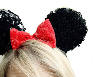 girl, disney, and bow image