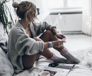 fashion, style, and morning image