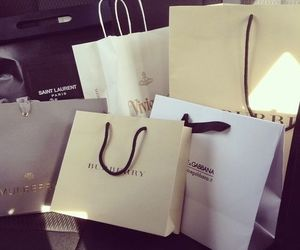 shopping, Burberry, and luxury image