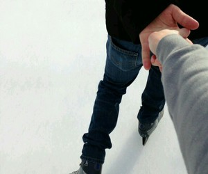 couple and ice image