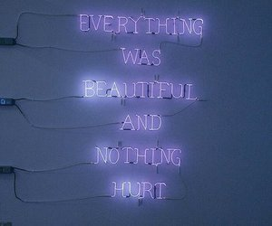 quotes, purple, and light image