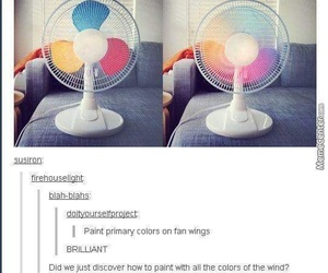 fan, funny, and awesome image