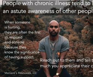 chronic illness, compassion, and meniere's disease image