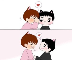 exo, kpop, and kaisoo image