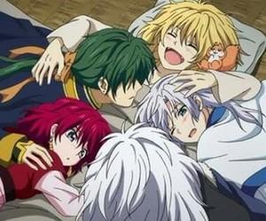 anime, zeno, and akatsuki no yona image