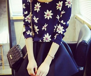 clothing, flowers, and outfit image