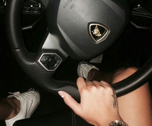 car, tattoo, and luxury image