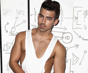 boy, gym, and Joe Jonas image