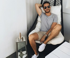 boy, style, and summer image