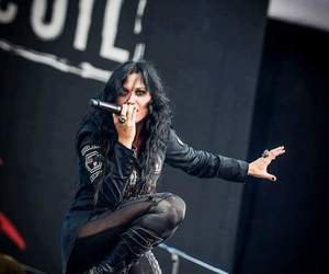 concert, music, and Lacuna Coil image