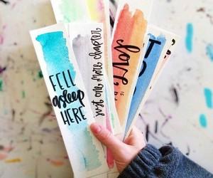 book, diy, and bookmark image