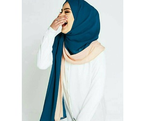 funny, hijab, and style image