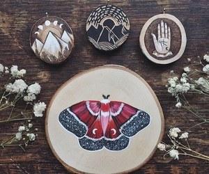 boho, nature, and paint image
