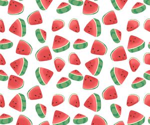 pattern and watermelon image