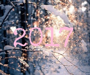 bye, happy new year, and winter image