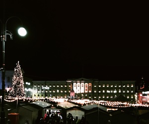 christmas, dark, and festive image