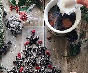 chocolate, christmas, and milk image