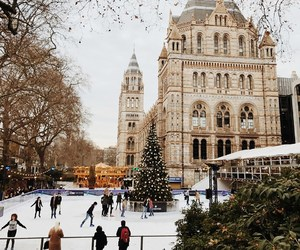 christmas, holiday, and london image