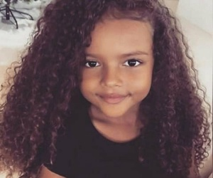 hair, child, and curly image