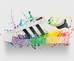 adidas, shoes, and colour image