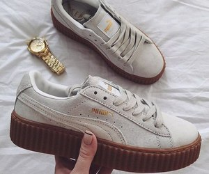 creeper, puma, and shoes image