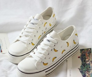 bananas, shoes, and sneakers image