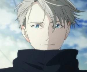 anime, victor nikiforov, and yuri on ice image