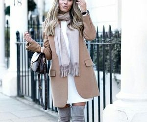 trench jacket chic look image