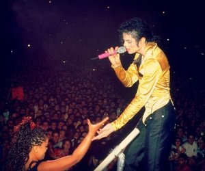 king of pop, michael jackson, and love image