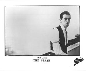 rock music, the clash, and mick jones image