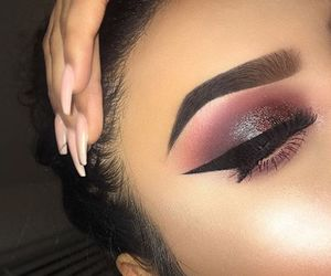 glitter, gorgeous, and make up image