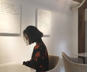 girl, korean, and aesthetic image
