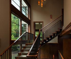 casa, escada, and luxury image