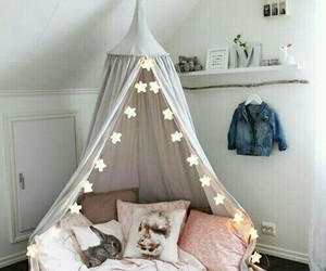 room, light, and bedroom image