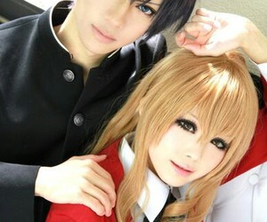 anime, cosplay, and couples image