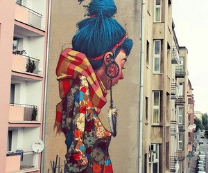 art, graffiti, and street art image